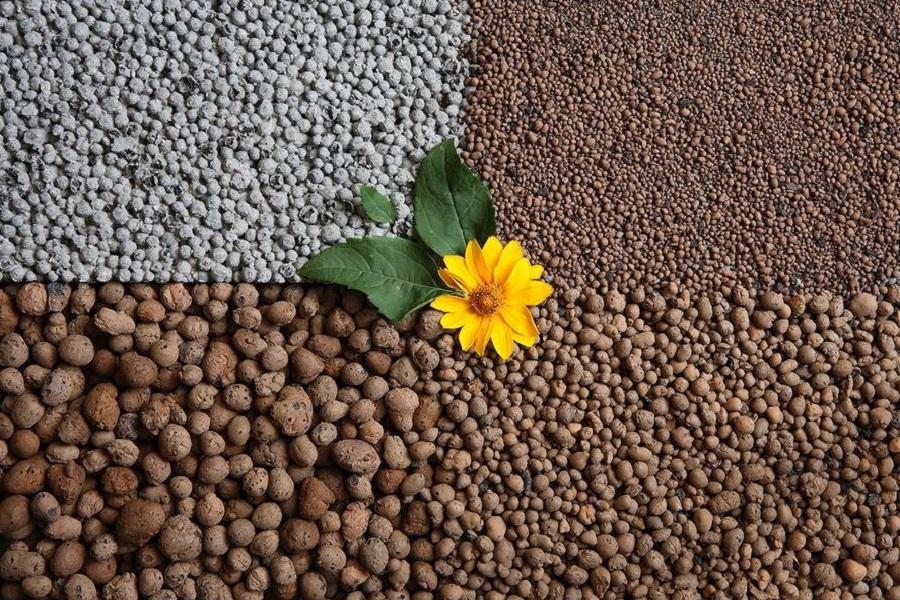Подготовка керамзита для растений
