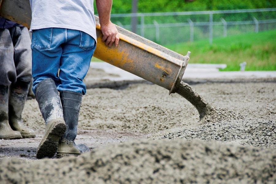 Смеси тяжелого бетона на гранитном щебне