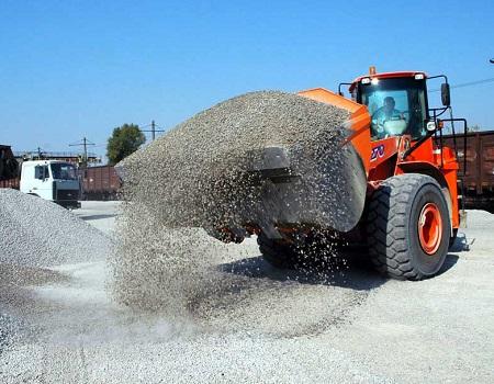 Плотность гранитного щебня