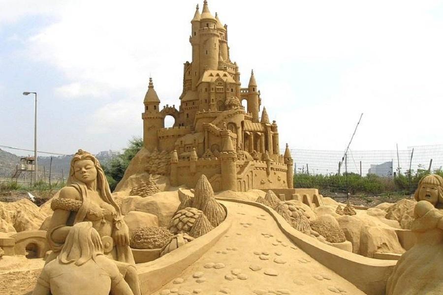 Использование песка