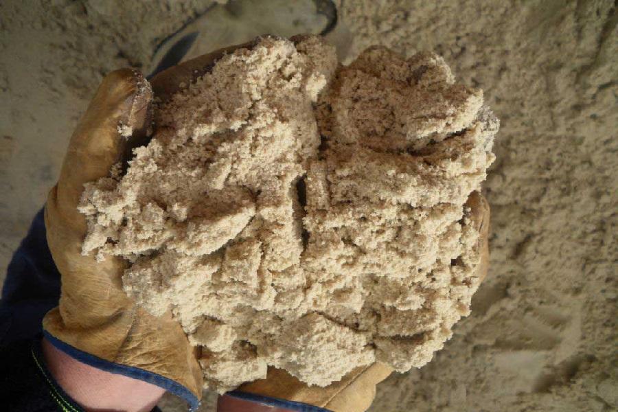 Плотность карьерного песка