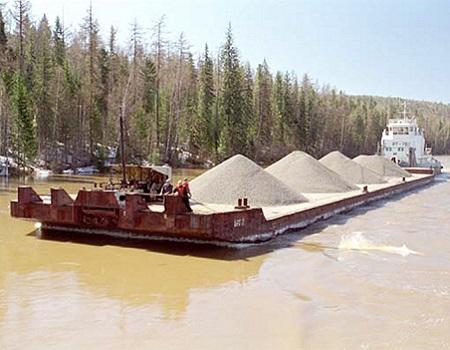 Песок природный речной