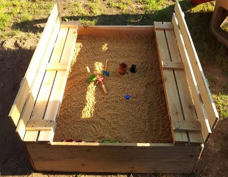 Песок для песочниц детского сада