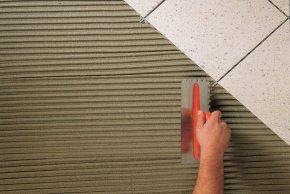 Смеси Сухие Цементно-Песчаные Клеевые Для Плиточных Работ