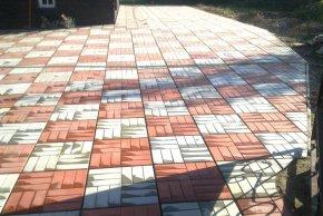 Сухая смесь для тротуарной плитки