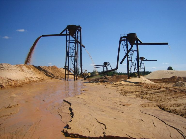 Плотность речного песка